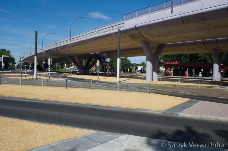 Renovatie kruispunt 24 oktoberplein utrecht