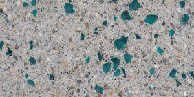 Lucida concreto vetro verde