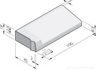 Inritbanden 45x18x100 vb