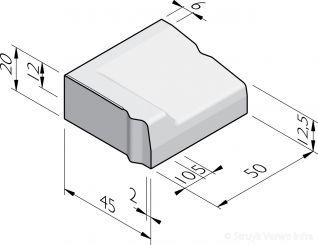 Inritbanden 45x20x50 vb