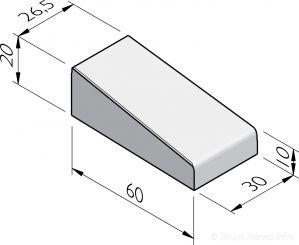 Inritbochtbanden 60x20x30 vl