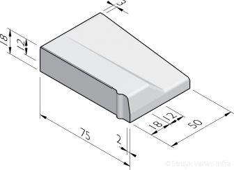 Inritbanden 75x18x50 vb