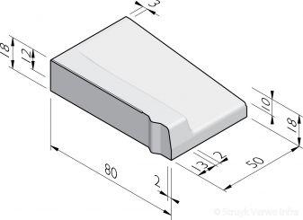 Inritbanden 80x18x50 vb