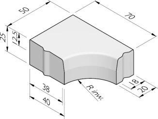 Hoekblokken 38/40-18/20x25