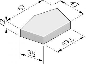 Penta 43x67