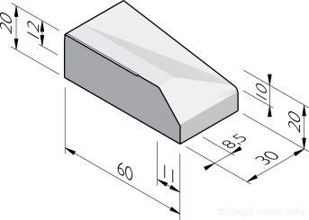 Inritbanden 60x20 RWS 11/22