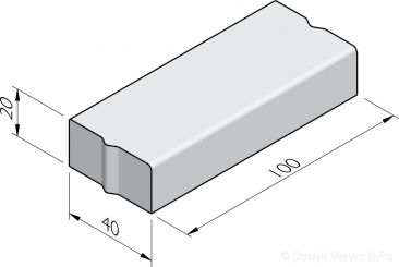 Trottoirbanden 40x20