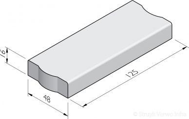 Trottoirbanden 48x16