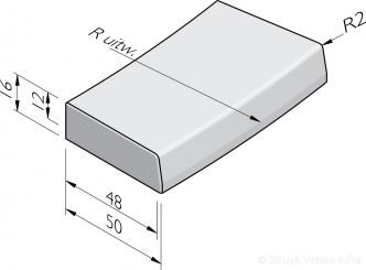 Trottoirbochtbanden 48/50x16