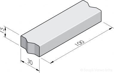 Rabatbanden 30x15
