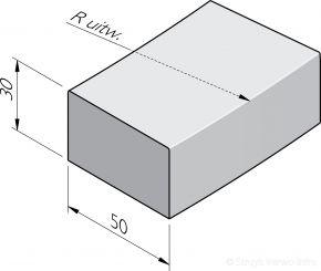 Rabatbochtbanden 50x30