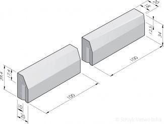 Verloopbanden 10/20x40 combi