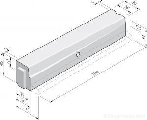 HOV-verloopbanden 25/30x40