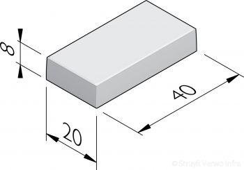 Tegels 20x40