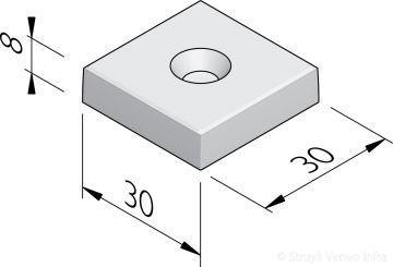 Knikkertegels 30x30