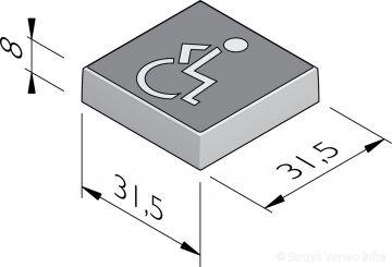 Symbooltegels 31,5x31,5