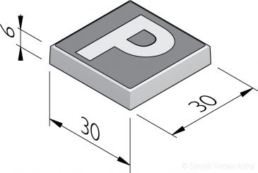 P-tegels 30x30