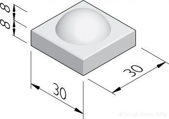 Boltegels 30x30