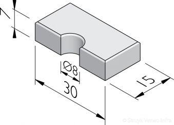 Sparingtegels 15x30