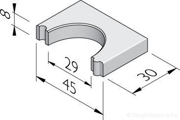 Sparingtegels 30x45