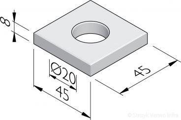Sparingtegels 45x45