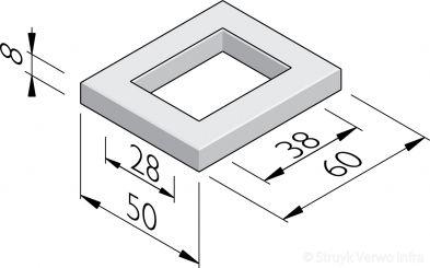 Sparingtegels 50x60