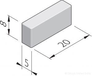 Waalformaatstenen 20x5