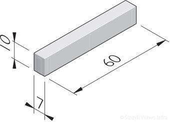 Betonstraatstenen 60x7