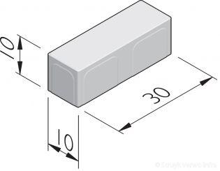 Betonstraatstenen 30x10