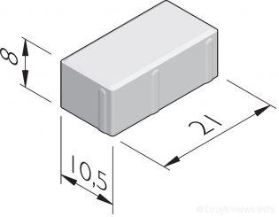Betonstraatstenen 21x10,5
