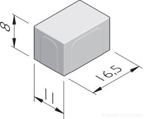 Betonstraatstenen 16,5x11