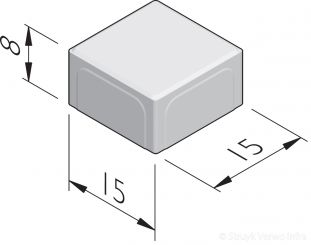 Betonstraatstenen 15x15