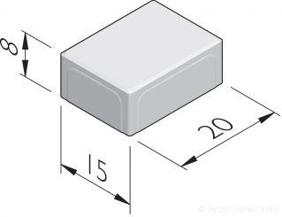 Betonstraatstenen 20x15