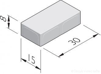 Betonstraatstenen 30x15