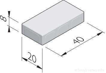 Betonstraatstenen 40x20
