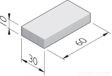Betonstraatstenen 60x30