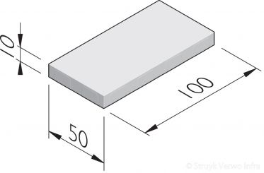 Betonstraatstenen 100x50