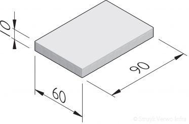 Betonstraatstenen 90x60