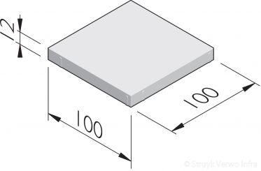 Betonstraatstenen 100x100