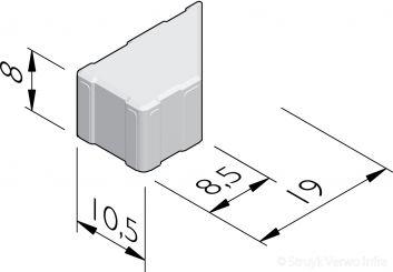 H2O keperstenen 21x10,5
