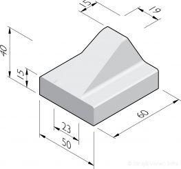 Schampblokken 60x50