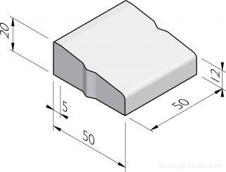 Rotondeblokken 50 midden