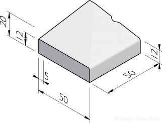 Rotondeblokken 50 eind