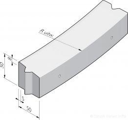 Rotonde-elementen 50x50