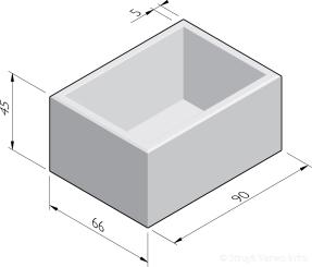 Bloembakken 66x90