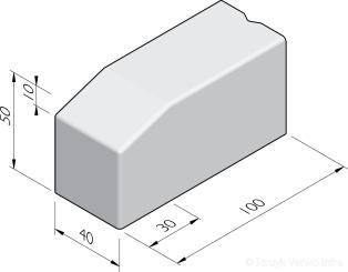 Bloembak eindbanden 40x50