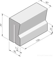 Grande bastion eindbanden 40/32x70