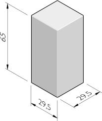 Siercarré vierkant 30