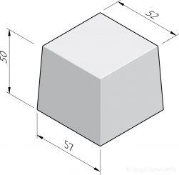Siercarré vierkant 60