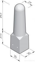 Sierpaal Den Bosch